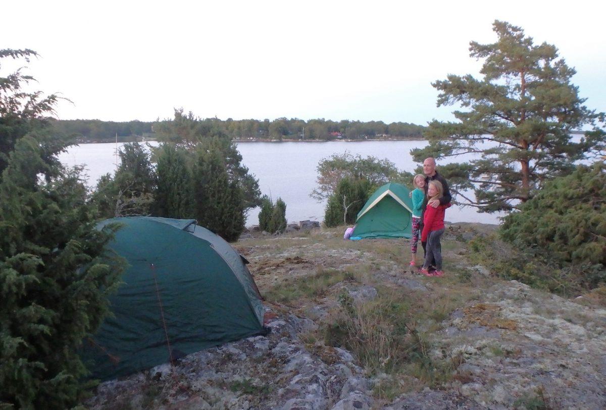 Paddla till Saltärna tälta 27-28/8-16
